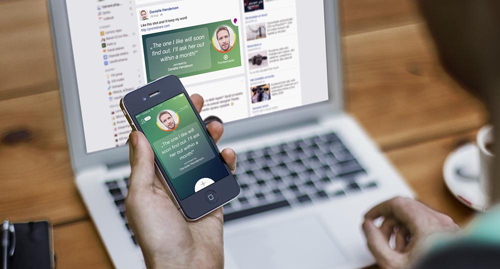 Čeští LemonyApps vydávají motivační iOS appku Promishare. Jak vznikala a co bude umět?