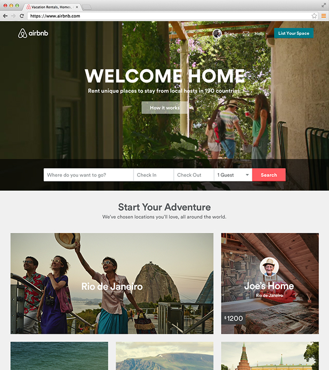 Homepage…