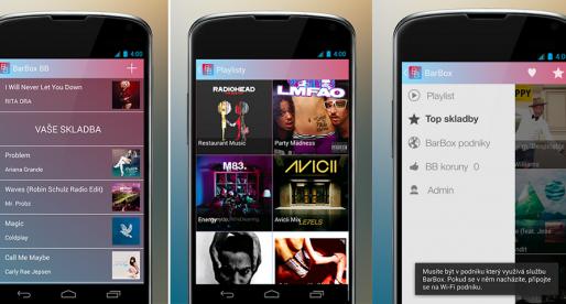 BarBox, česká hudební iOS a Android platforma pro podniky