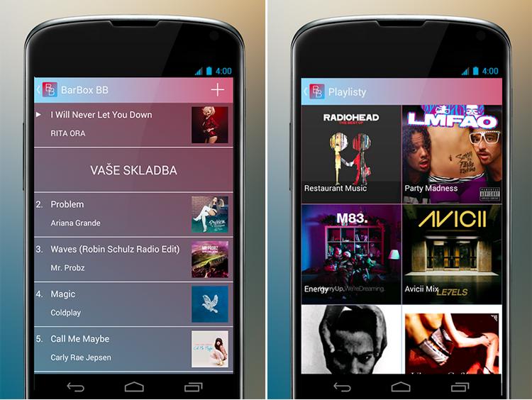 Android aplikace…