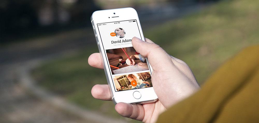 Moments, nová iOS appka od Michala Aclera