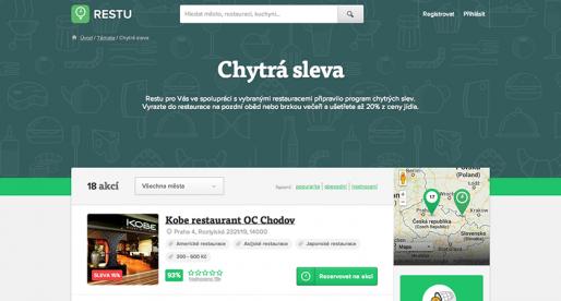 Mitonské Restu.cz ve spolupráci se Slevomatem spouští chytré slevy pro restaurace