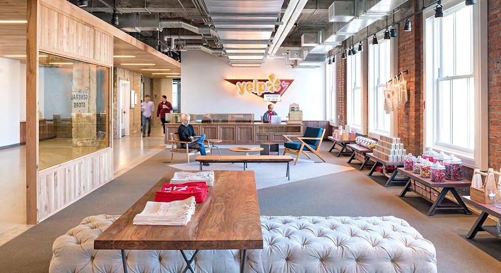 Jak to vypadá v novém sídle Yelpu v San Franciscu?