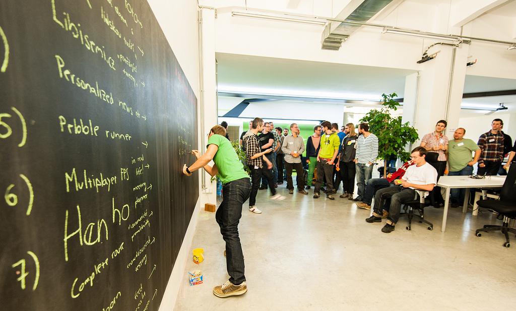 Pár informací o dnešním Enterprise Data Hackathonu v TechSquare