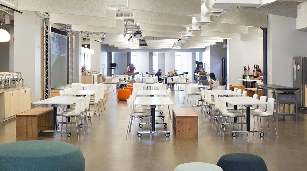 Jak to vypadá v hlavních kancelářích platformy Eventbrite?