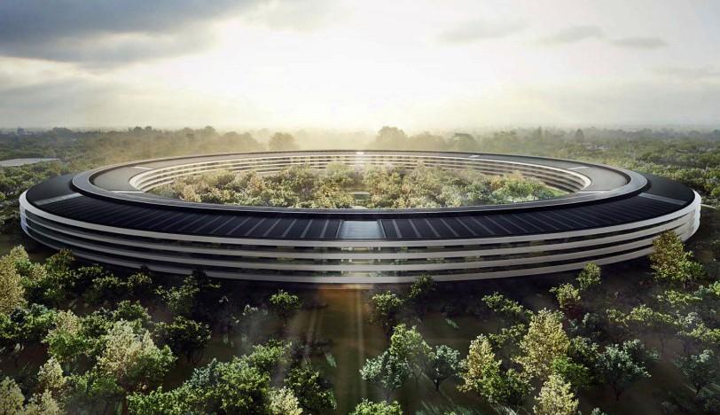 Stavba nového UFO sídla Applu v problémech