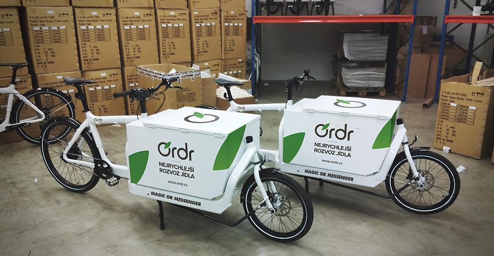 Expresní food delivery služba Ordr.cz začíná rozvážet i na Smíchově