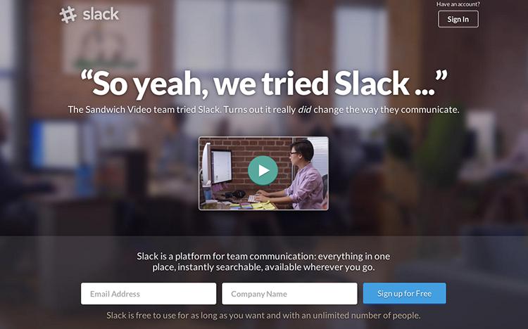 8 měsíců starý startup Slack raisuje přes 2,4 miliardy Kč