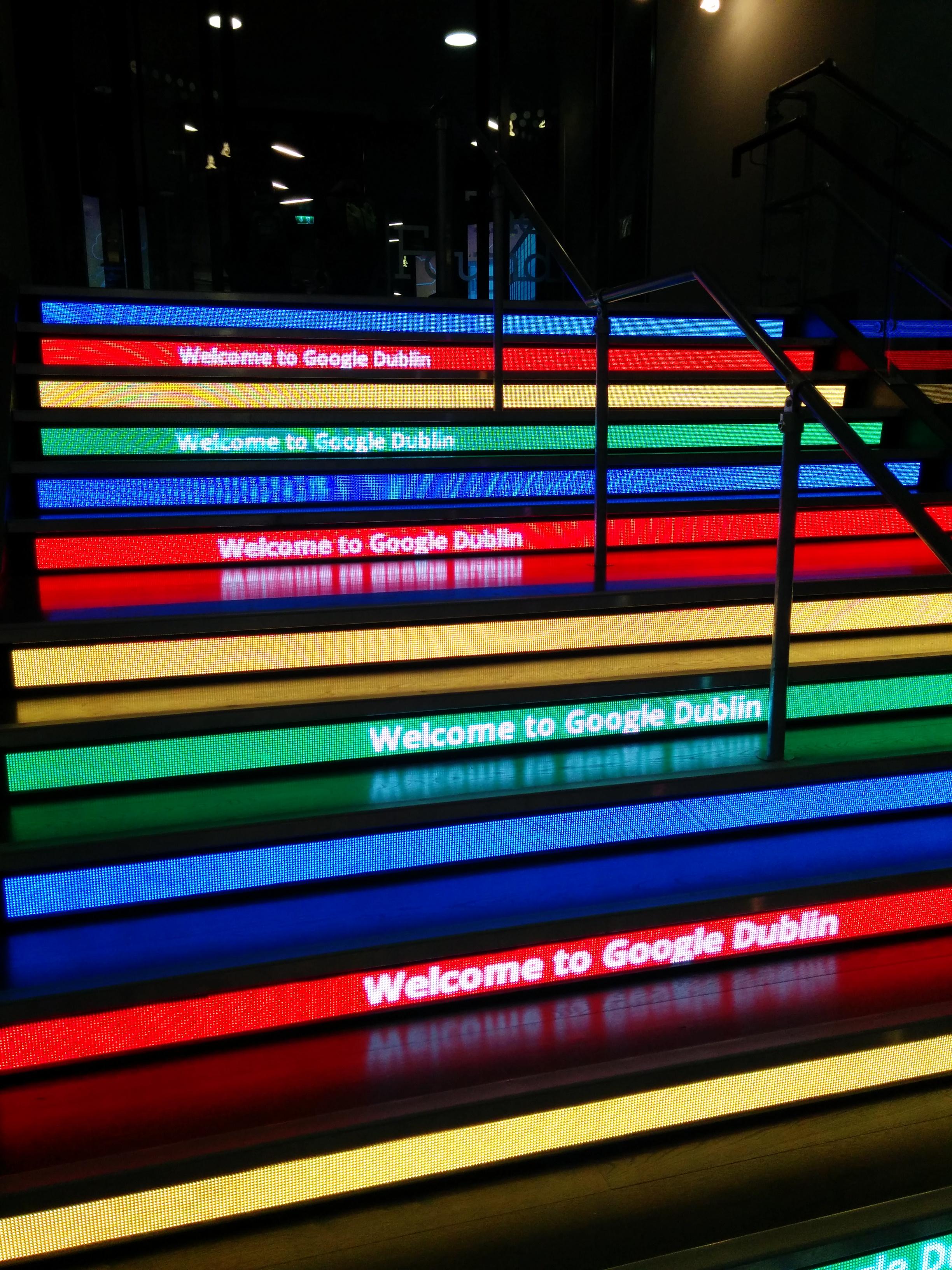 Druhý den uspořádal Google ve svém evropském sídle docela slušnou párty