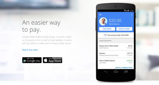 Google částečně ukončuje podporu Google Wallet
