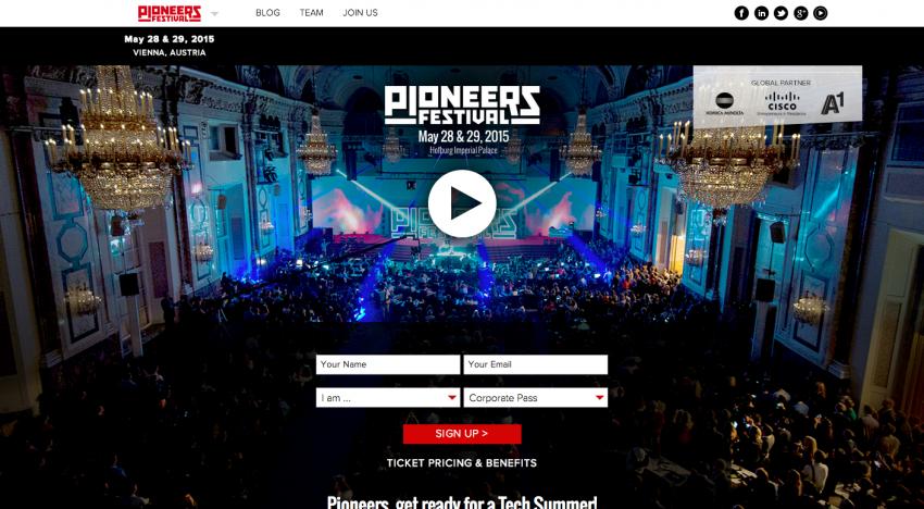 Chystají se early vstupenky na Pioneers Festival. Vystoupí i Roman Staněk z GoodData!