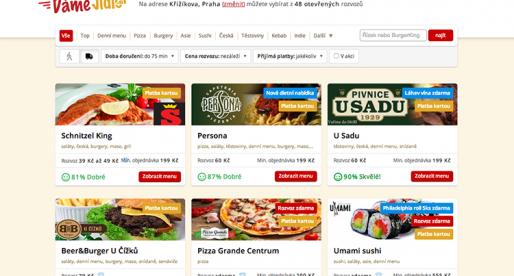 DameJidlo.cz měsíčně vyřídí 125 tisíc objednávek
