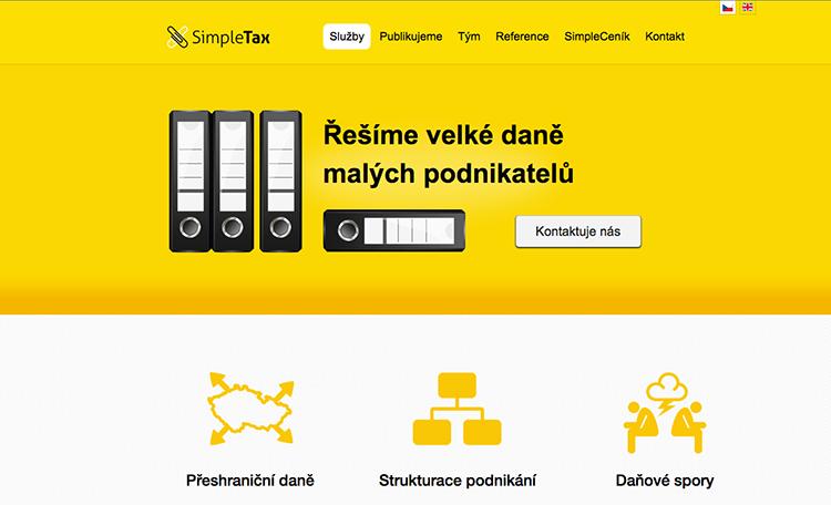SimpleTax vám fixne daně a účetnictví