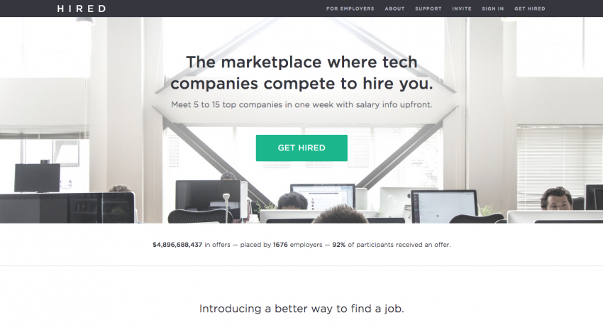 Hired.com raisuje přes 330 milionů korun a chystá masivní expanzi