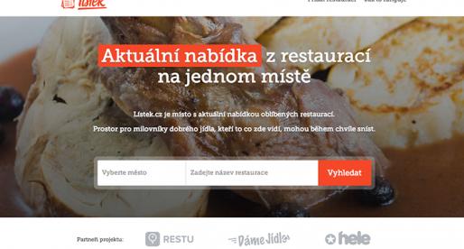 Miton spouští foodie startup Lístek.cz