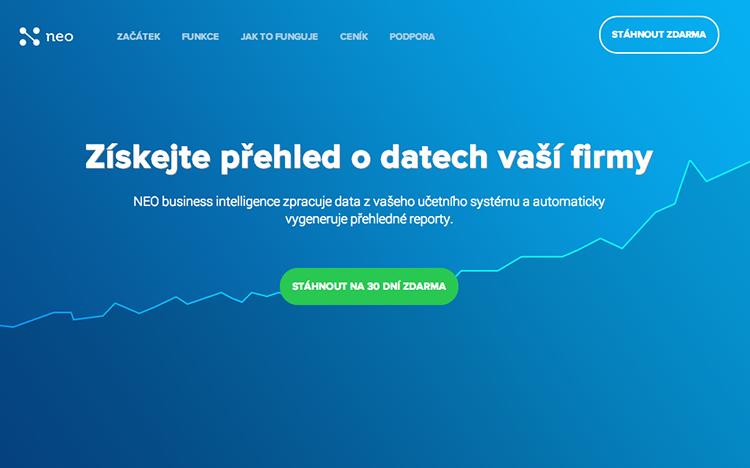 Brněnská NEO business intelligence zpracuje vaše data z účetnictví