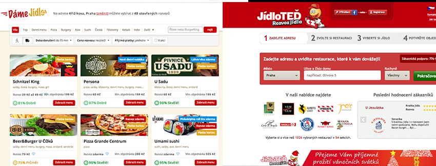 Kupuje Damejidlo.cz konkurenční Jidloted.cz?