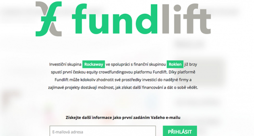 Rockaway a Roklen brzy spustí investorskou platformu Fundlift.cz