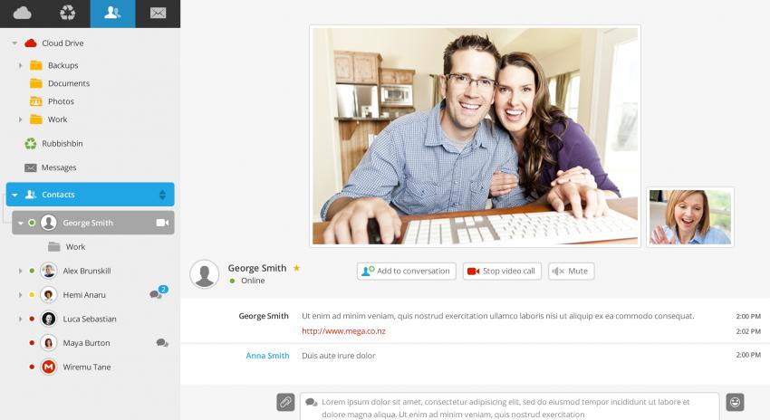 Kim Dotcom vypustil MegaChat, anonymního zabijáka Skypu