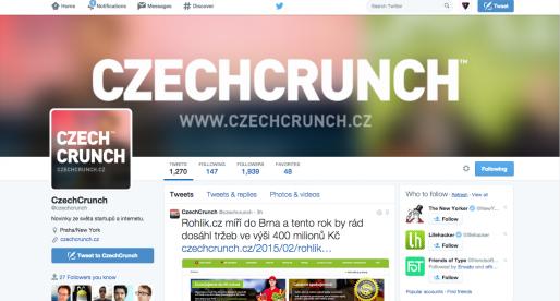 Twitter testuje novou landing page pro neregistrované uživatele