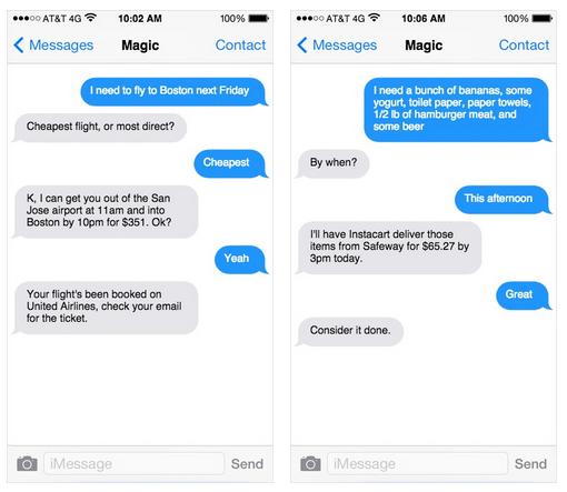 Nový startup Magic dokáže zajistit takřka cokoliv s objednávkou přes SMS