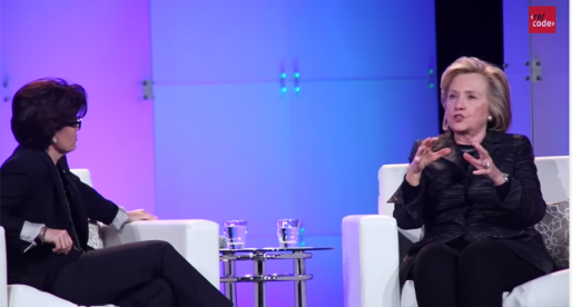 Hillary Clinton exkluzivně v Re/code o NSA nebo genderové nerovnosti v technologiích