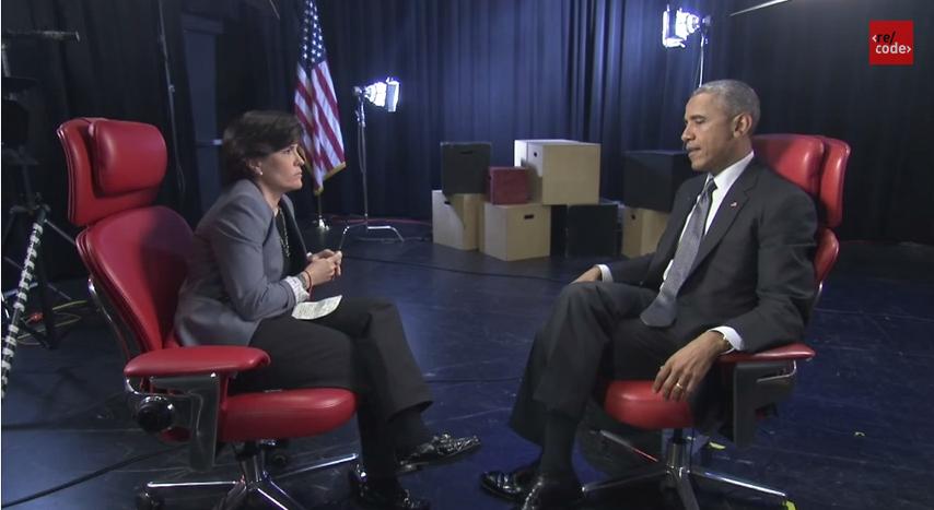Obama exkluzivně v Re/code o Silicon Valley nebo kyberválce