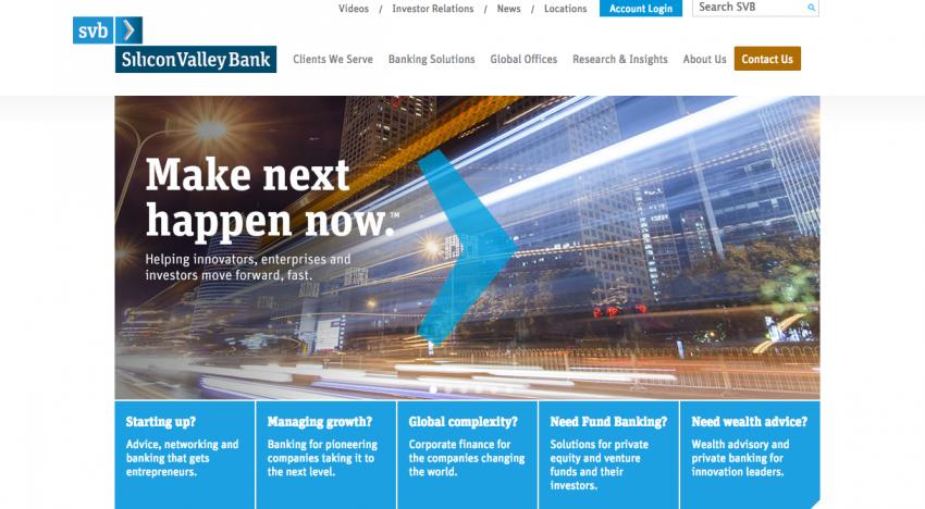 Silicon Valley Bank, banka nejen pro startupy a úspěšné investory, ke které se připojil i český Angelcam