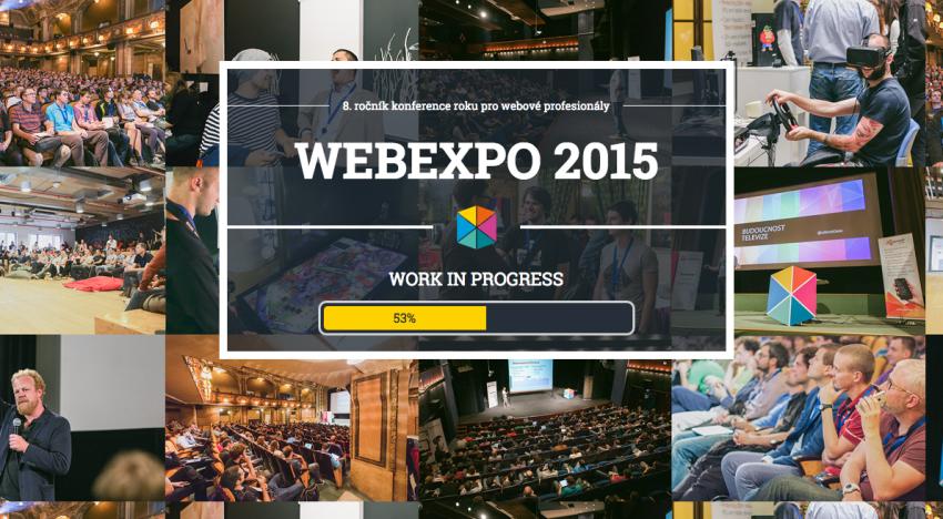 Na WebExpo 2015 se představí i tato známá jména ze zahraničí