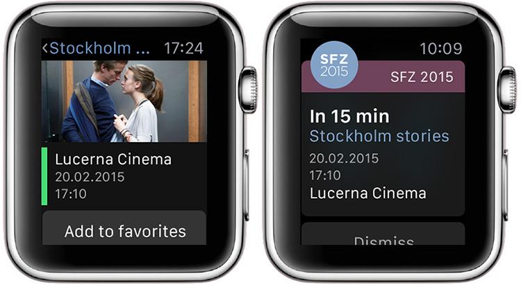 Jedna z prvních českých aplikací pro Apple Watch je tady