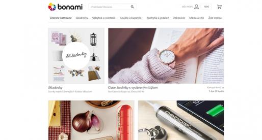 Internetový obchod Bonami od Mitonu expanduje na Slovensko