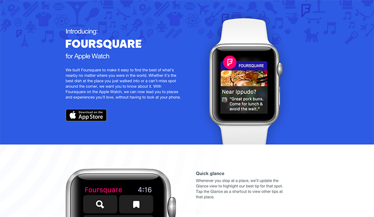 foursquare-apps-store