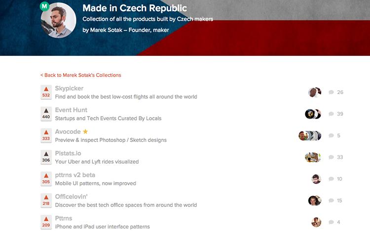 Nejlepší české startupy a aplikace, které se dostaly na ProductHunt