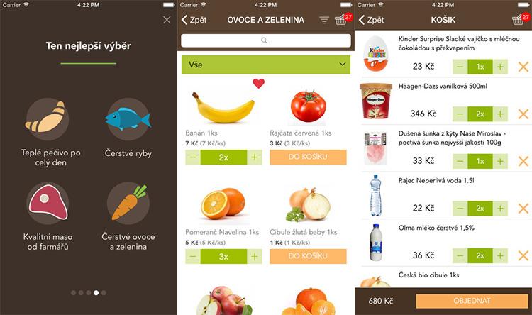 Rohlik.cz vydává mobilní appku pro iOS a Android