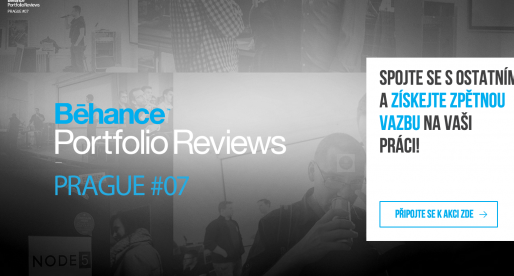 V Praze se chystá velká akce nejen pro designery – Behance Portfolio Reviews #7