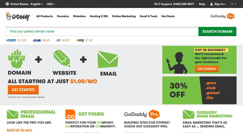 GoDaddy zveřejnilo finanční výsledky za první kvartál 2015