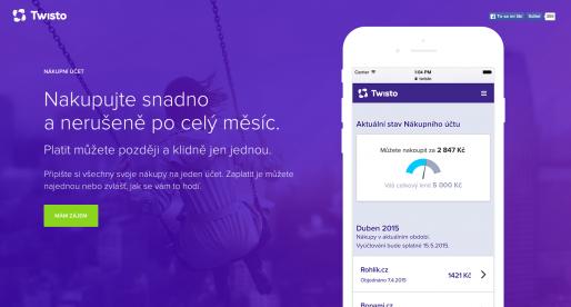 Nová služba Nákupní účet od Twisto podstatně vylepšila tržby e-shopů