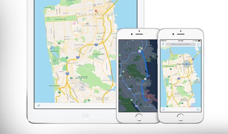 Apple kupuje GPS startup pro vylepšení mapových podkladů a autonomní navigace