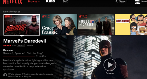 Streamovací služba Netflix vyrostla na burze o 18% a je hodnotnější než Uber!
