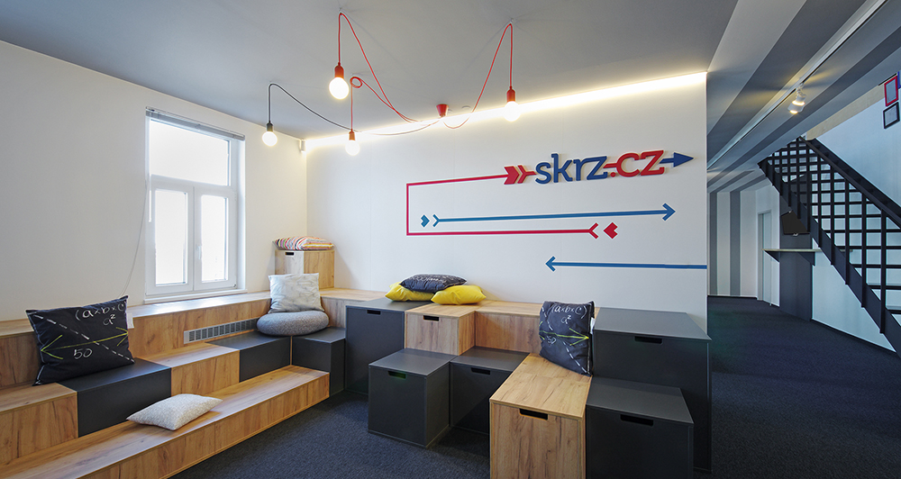 Podívejte se do nových kanceláří Skrz.cz