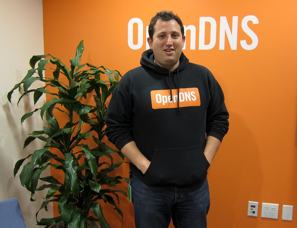 CEO společnosti OpenDNS, David Ulevitch