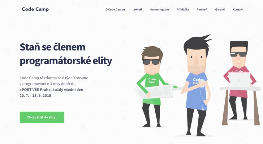 Code Camp, letní příležitost nejen od Mitonu pro 25 programátorských talentů