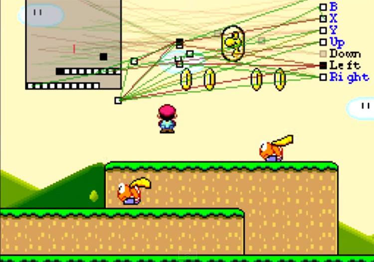 Tenhle vývojář vyvinul umělou inteligenci, která se sama učí hrát hru Super Mario World