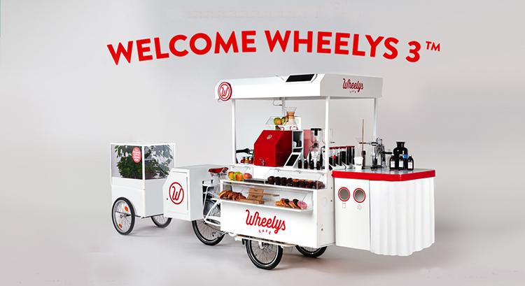 Naprosto geniální! Tohle high-tech kolo umožní komukoliv si otevřít vlastní kavárnu
