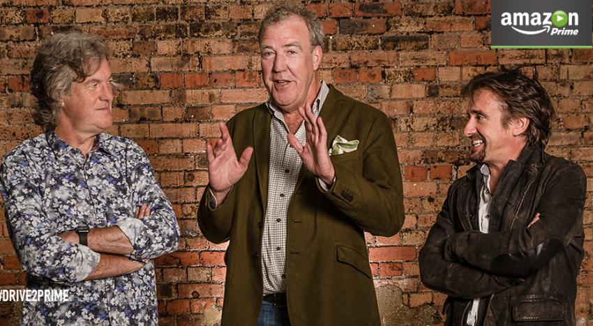 Jeremy Clarkson a další z pořadu Top Gear podepsali exkluzivní smlouvu s technologickým gigantem