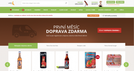 Český rozvozce potravin Rohlík.cz získává investici ve výši desítek milionů korun