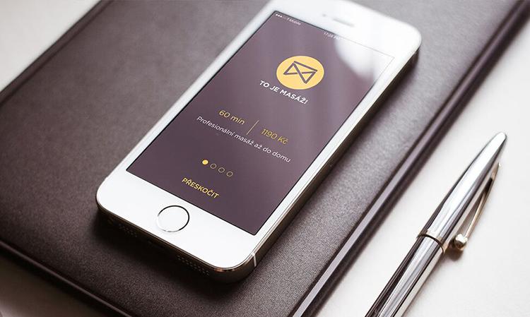 Tahle nová česká iOS aplikace vám umožní objednat si domů profesionální masérku