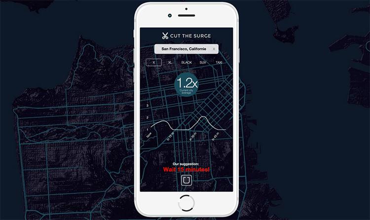 Díky této nové mobilní aplikaci budete jezdit s Uberem mnohem levněji