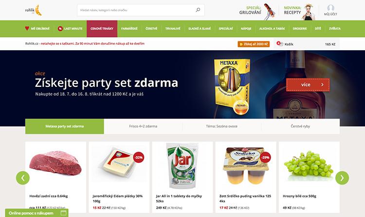 Online supermarket Rohlik.cz dnes odstartoval v Brně