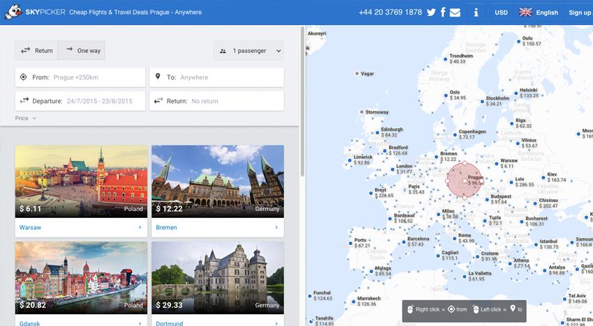 Miliardový brněnský vyhledávač letenek Skypicker utrží denně přes 10 milionů korun